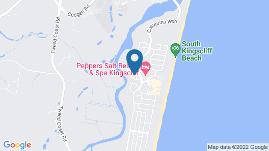 Kingscliff Beach Holiday House @ Salt Village Map
