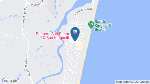 Peppers Salt Resort & Spa Map