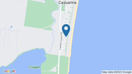 Cotton Beach 37 - Private Beachfront Complex Map