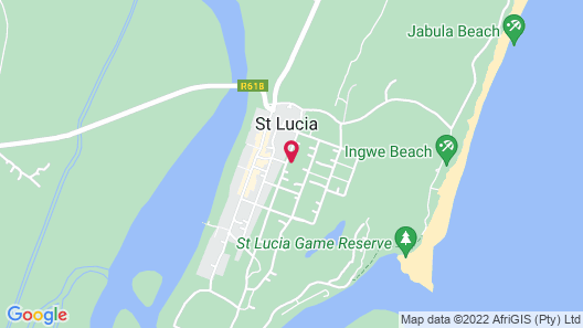 Pelican s Nest Holiday Home St Lucia Map