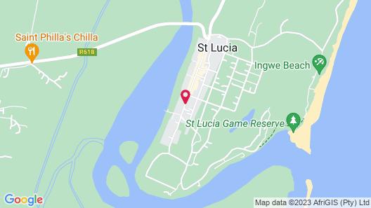 Lidiko Lodge Map