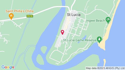 St Lucia Safari Lodge Map