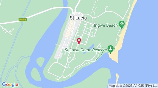 Ndiza Lodge & Cabanas Map