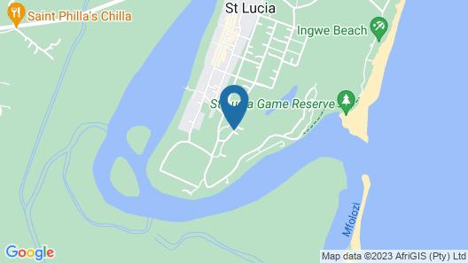 Little Eden St Lucia Map