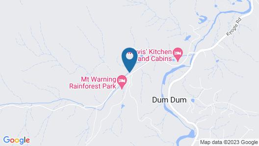 Mt Warning Rainforest Park Map