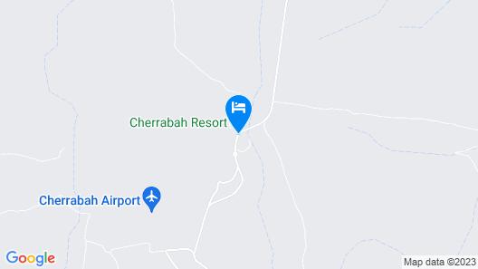 Cherrabah Resort Map