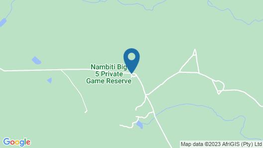 Nambiti Plains Private Game Lodge Map