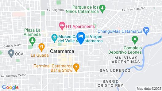 Hostal Atix Map