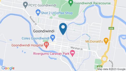 Binalong Motel Map