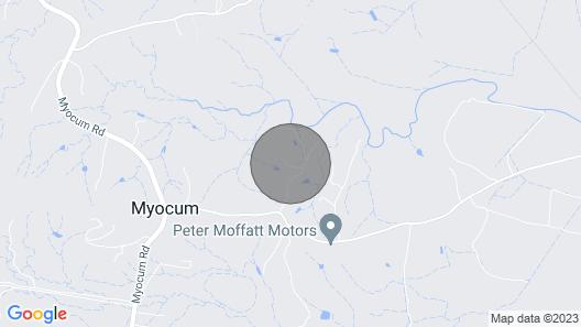 Sunset Cottage, Byron Bay Map
