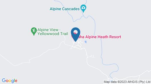 aha Alpine Heath Resort Map