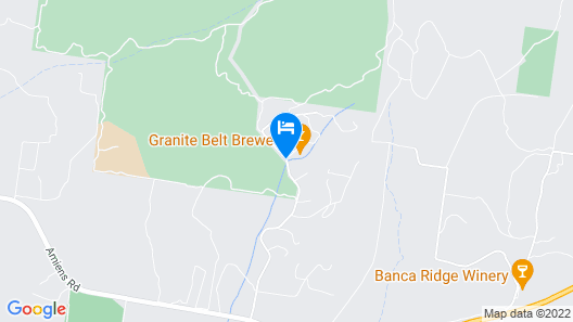 Granite Belt Brewery Retreat Map
