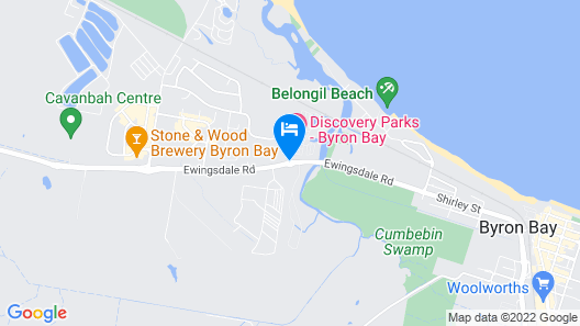 Discovery Parks – Byron Bay Map