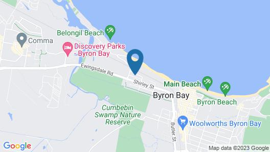 Cavvanbah Beach House Map