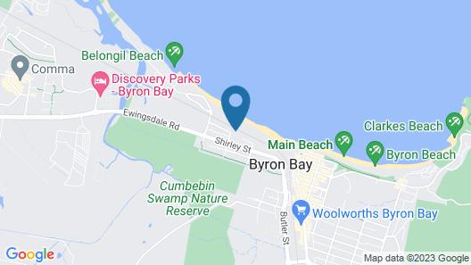 A PERFECT STAY - Kiah Beachside Map