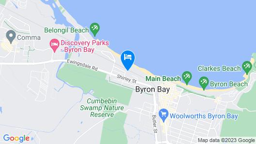 Kiah Beachside Map
