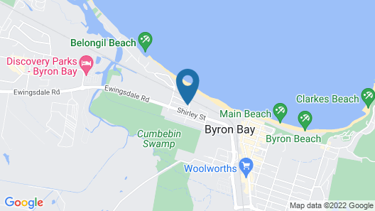 Byron by the Beach Map