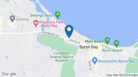 Kaylani Beach Houses Map