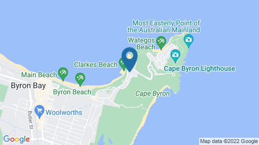 Bay Beach House Map