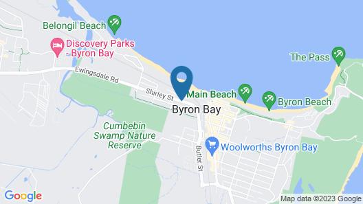 Byron Beachcomber Map