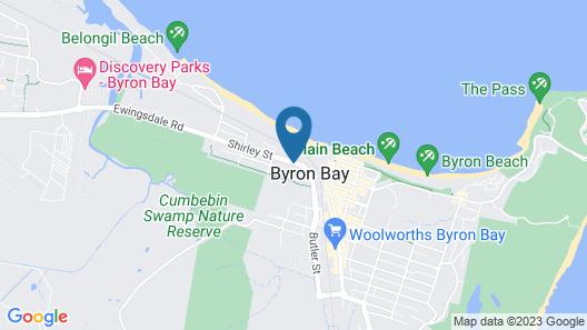Bay Haven Lodge Map