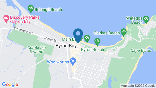 Bay Motel Map
