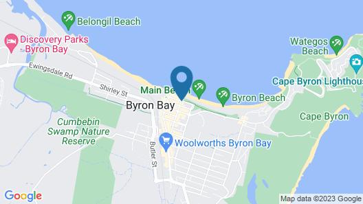 Beach Suites Map