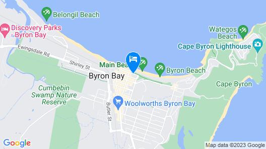 Bayview Beachfront Apartments Map