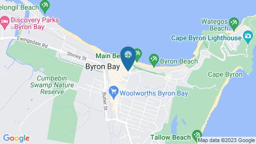 Hibiscus Motel Map