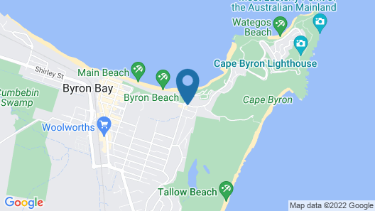 Arya Byron Bay Map