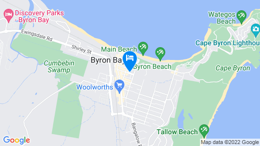 Byron Central Apartments Map