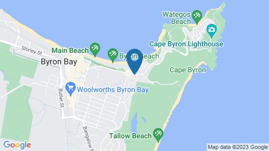 Cape Beach House Map