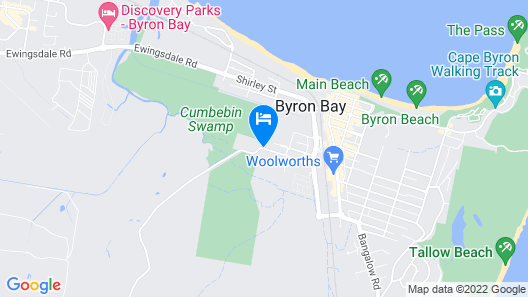 The Villas of Byron Map