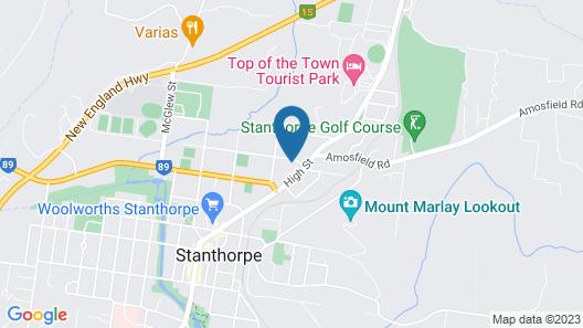 Atricom Apartments Australia Map