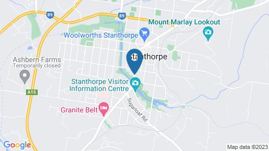 Boulevard Motel Map