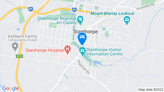 Apple & Grape Motel Map