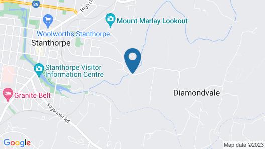 Diamondvale Cottages Map