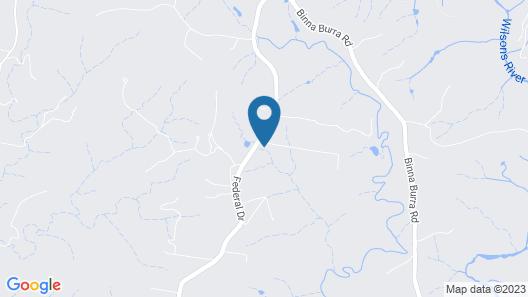 Brookbank - Byron hinterland estate Map