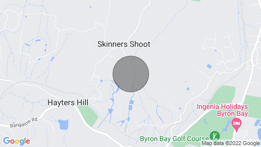 George's @ Byron Bay Rural Retreat Map