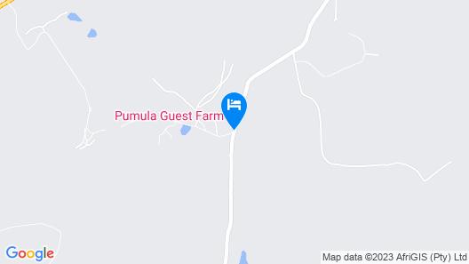 Pumula Guest Farm Map