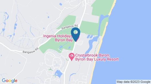 Ingenia Holidays Byron Bay Map