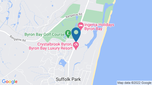 Byron Links Apartments Map