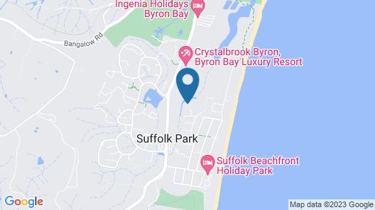 Beach Break Byron Map
