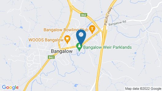 Bangalow Guesthouse Map