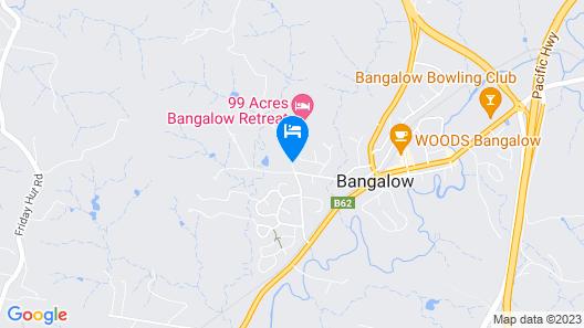 99 Acres Bangalow Retreat Map