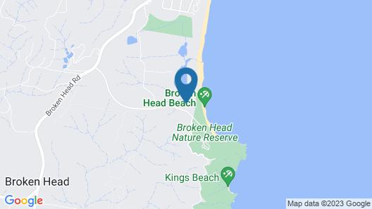 Byron Beach Retreats - The Bungalow Map