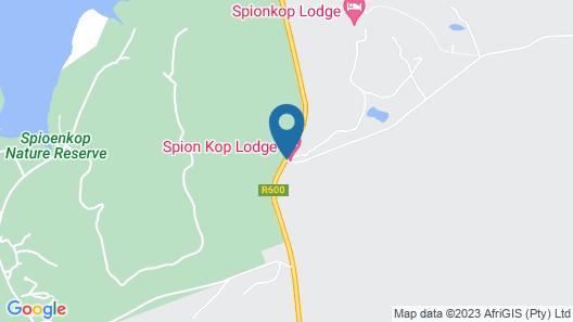 SpionKop Lodge Map