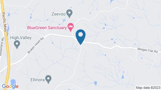 Four Winds Villas Map