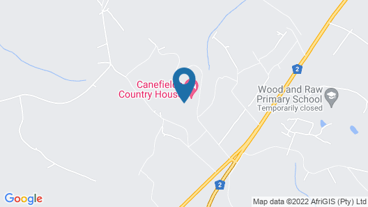 Canefields Country House Map
