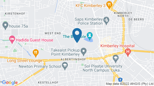 Protea Hotel by Marriott Kimberley Map